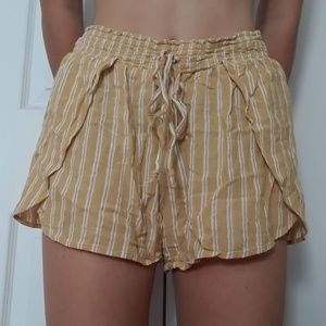 American Eagle Outfitters Striped Flowy Shorts